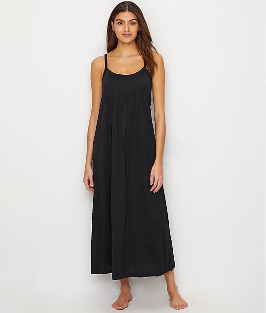 Hanro Juliet Knit Gown in Black 077748