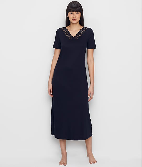 Hanro: Moments Knit Long Nightgown
