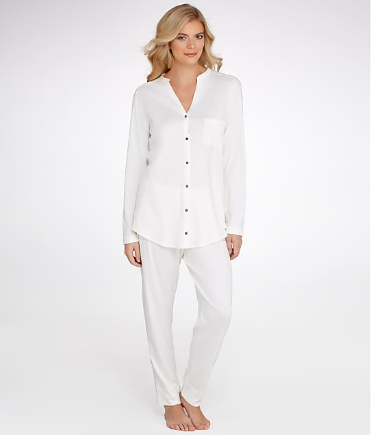 Hanro: Pure Essence Knit Pajama Set