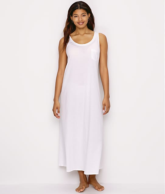 Hanro: Cotton Deluxe Long Tank Gown