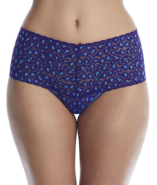 Hanky Panky: Cross Dyed Leopard Retro Thong