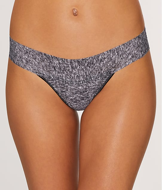 Hanky Panky: Heather Natural Rise Thong