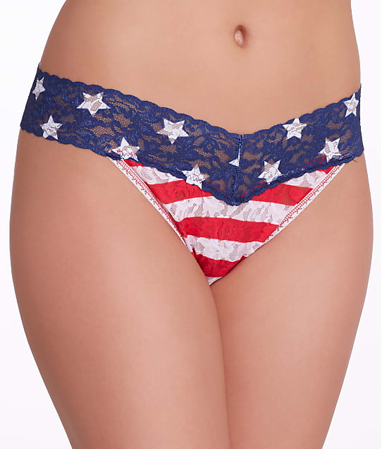 Hanky Panky: Stars and Stripes Original Rise Thong