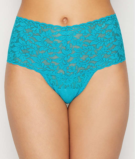 1d021ad1a409 Hanky Panky Signature Lace Retro Thong | Bare Necessities (9K1926OP)
