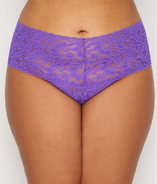 4978dabef062 Hanky Panky Plus Size Signature Lace Retro Thong | Bare Necessities  (9K1926X)