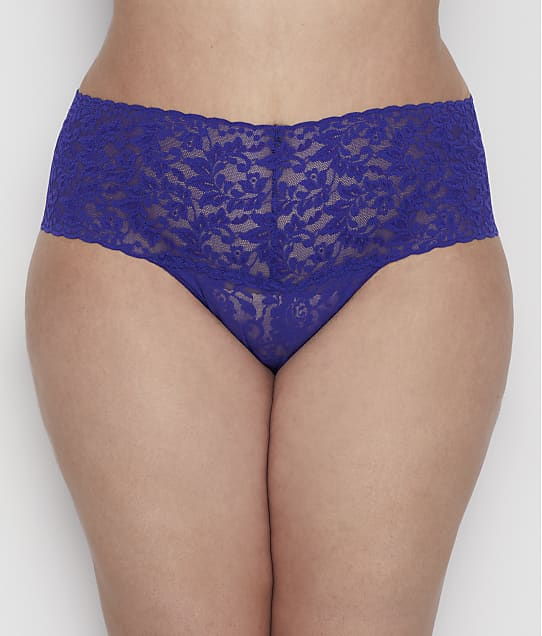 Hanky Panky: Plus Size Signature Lace Retro Thong