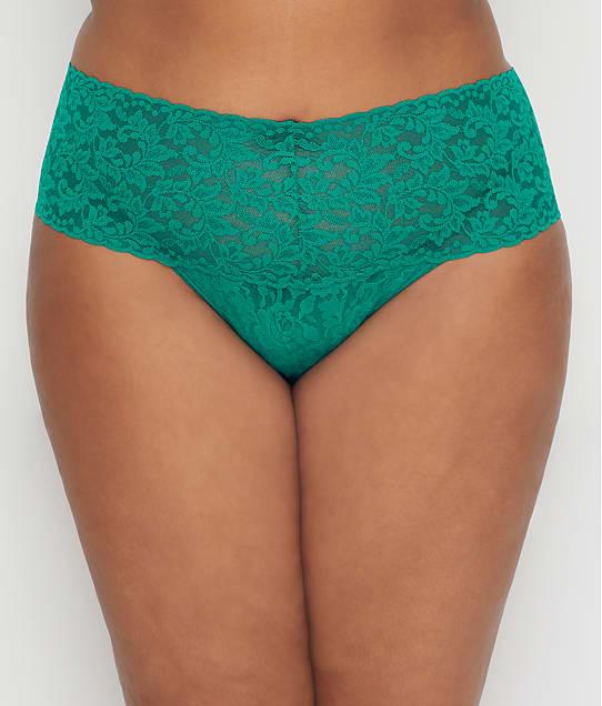 Hanky Panky: Plus Size Signature Lace Retro Thong