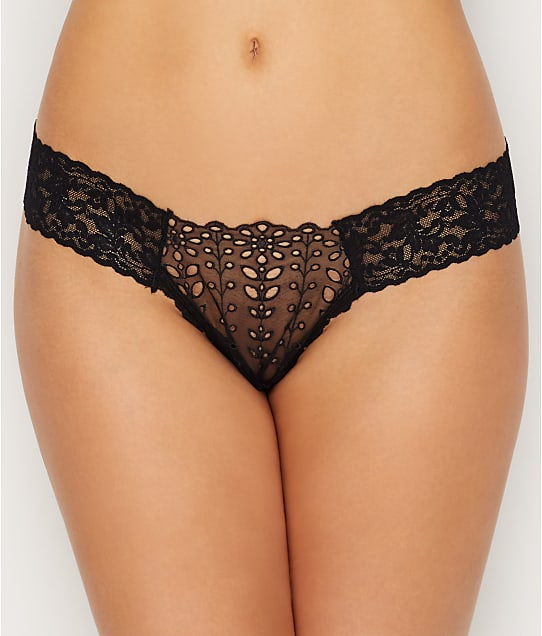 Hanky Panky: Etheral Eyelet Low Rise Diamond Thong