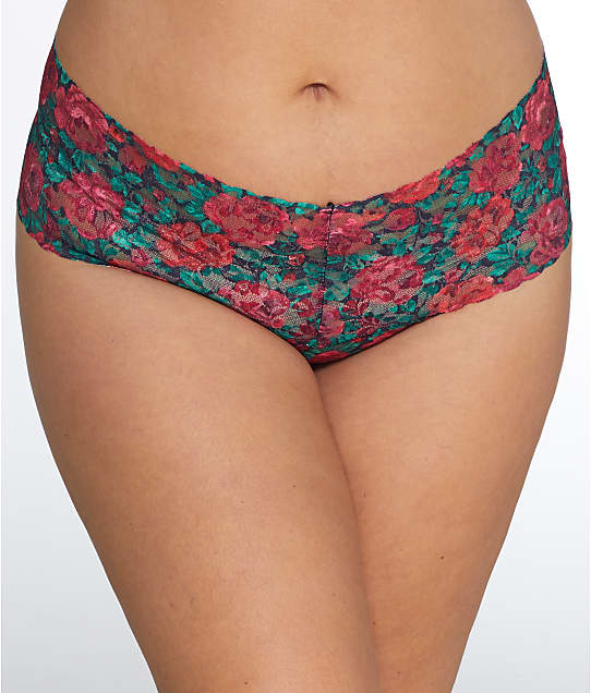 Hanky Panky: Plus Size Roses Are Red Retro Thong