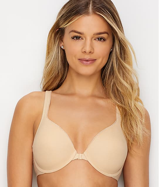 f9ed0f7a017 Hanes Ultimate ComfortBlend Front-Close T-Shirt Bra