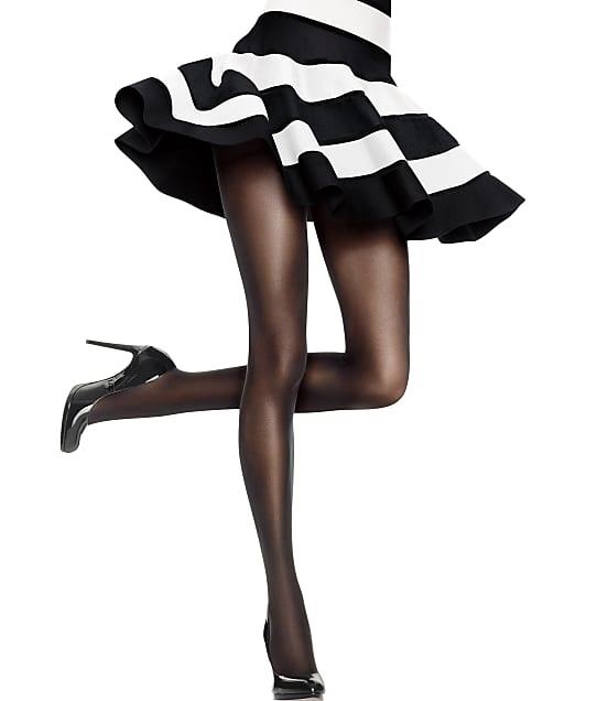 Hanes X-Temp Sheer Control Top Pantyhose in Black HFT011
