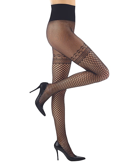 Commando: Deco Faux Thigh High Pantyhose