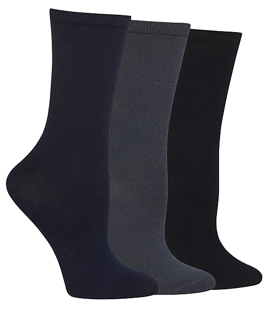 Hot Sox: Solid Crew Socks 3-Pack