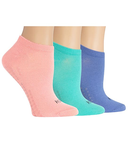 Hot Sox: Yoga Non-Skid Socks 3-Pack