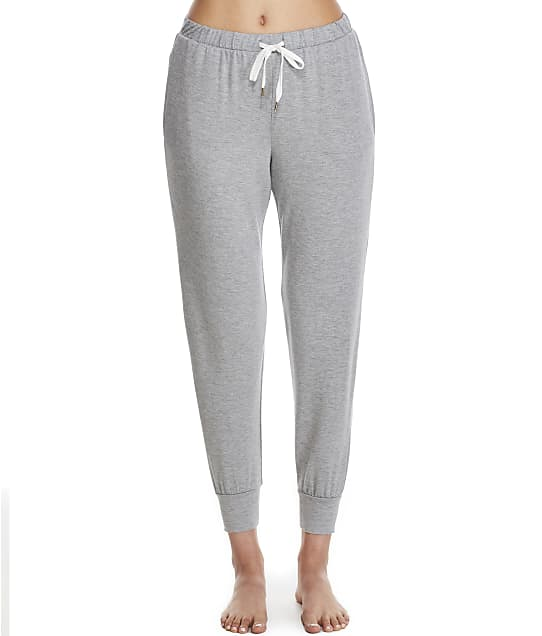 Honeydew Intimates Travel Light Modal Knit Lounge Joggers in Heather Grey(Front Views) 21746