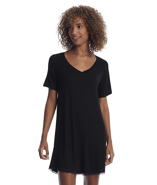 Honeydew Intimates: Black All American Sleep Shirt