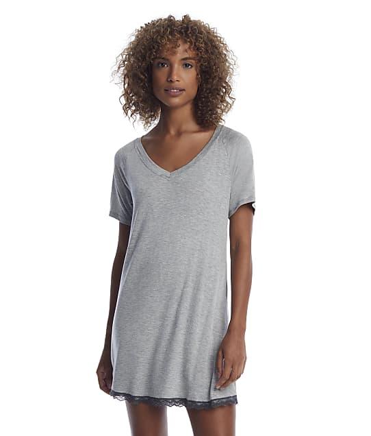 Honeydew Intimates Heather Grey All American Knit Sleep Shirt in Heather Grey 33135-GRY