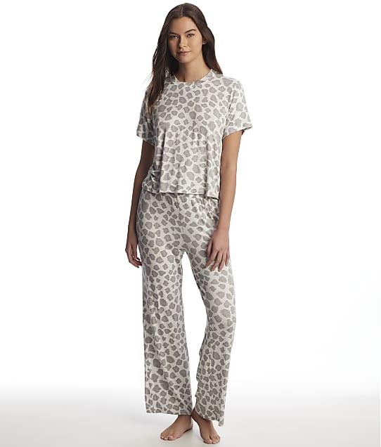 Honeydew Intimates: All American Leopard Knit Pajama Set