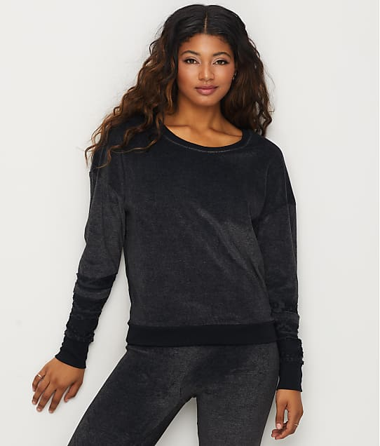 Honeydew Intimates: Comfy Cutie Velour Lounge Top