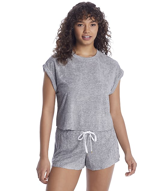 Honeydew Intimates Just Chillin Knit Lounge Set in Heather Grey 62920