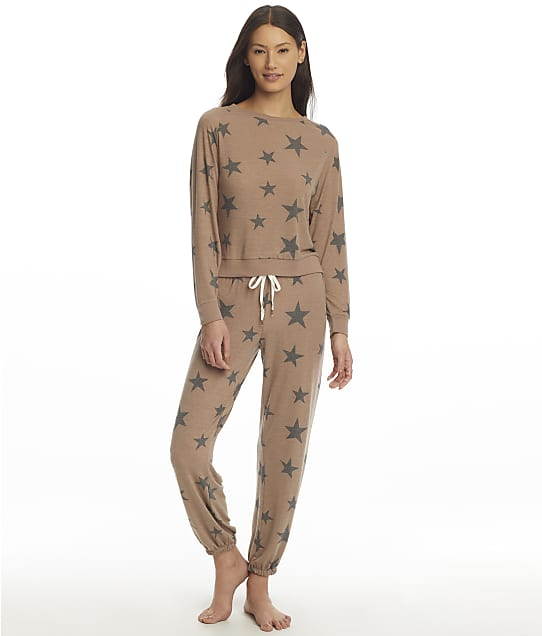 Honeydew Intimates Star Seeker Desert Stars Knit Pajama Set in Desert Stars(Front Views) 94113-DSTAR