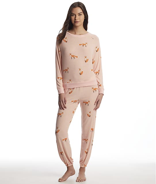 Honeydew Intimates: Star Seeker Fox Knit Pajama Set