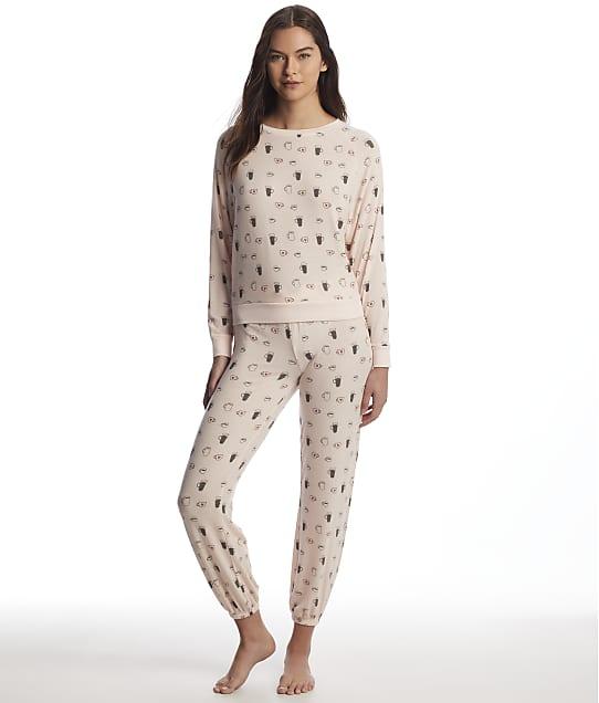 Honeydew Intimates: Star Seeker Mugs Knit Pajama Set