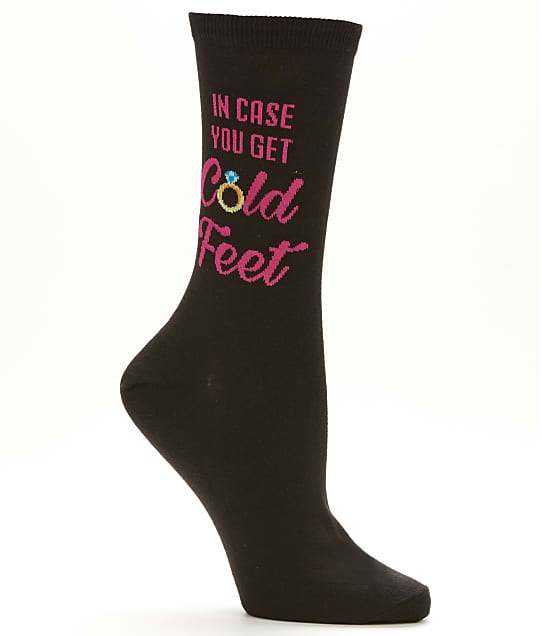 Hot Sox: Cold Feet Crew Socks