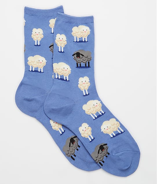 Hot Sox: Black Sheep Crew Socks