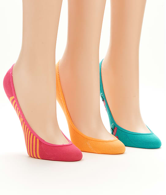 Hot Sox: Bright Flamingo Liner Socks 3-Pack