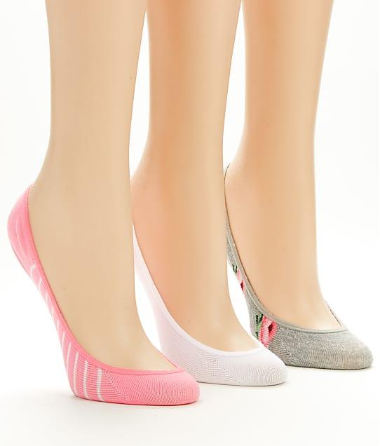 Hot Sox: Rose Floral Liner Socks 3-Pack