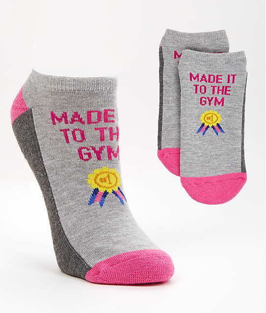 Hot Sox: Made It To The Gym No-Show Socks