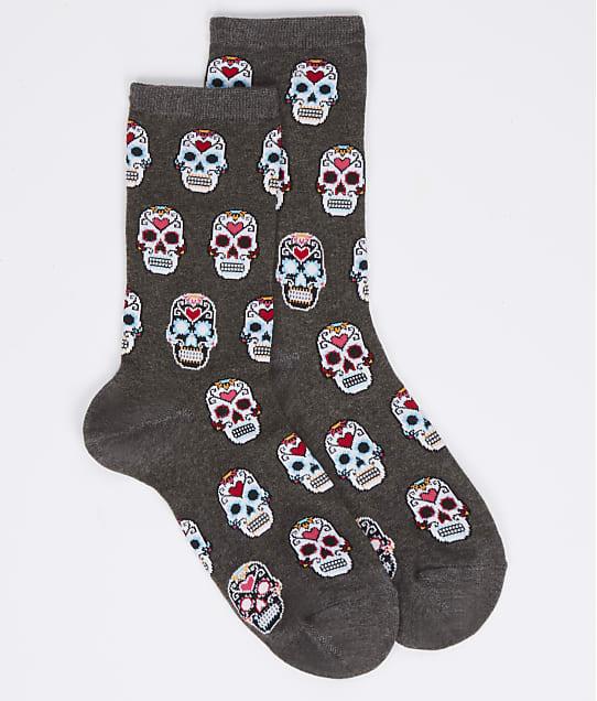 Hot Sox: Sugar Skulls Crew Socks