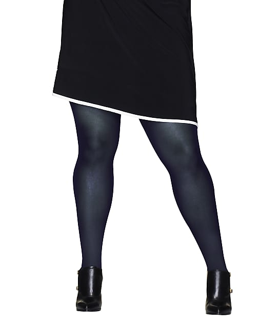 Hanes: Plus Size Curves Control Top Tights