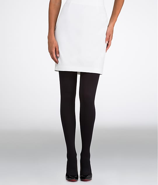 HUE StyleTech Blackout Tights in Black 14526