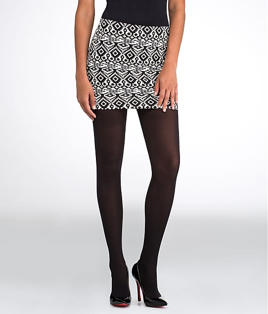 HUE: Seamless Opaque Luxe Tights