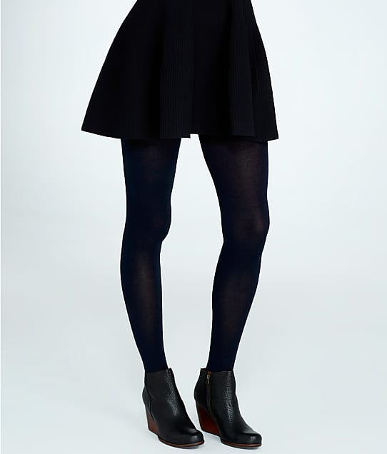 HUE: Flat Knit Sweater Tights