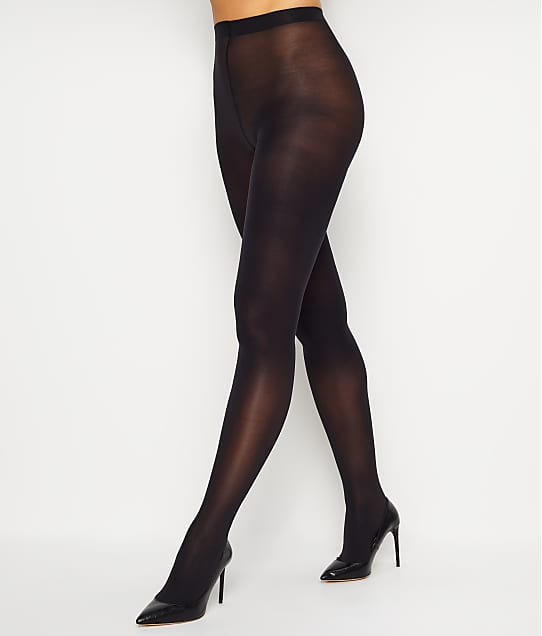 HUE Opaque Tights in Black 4689