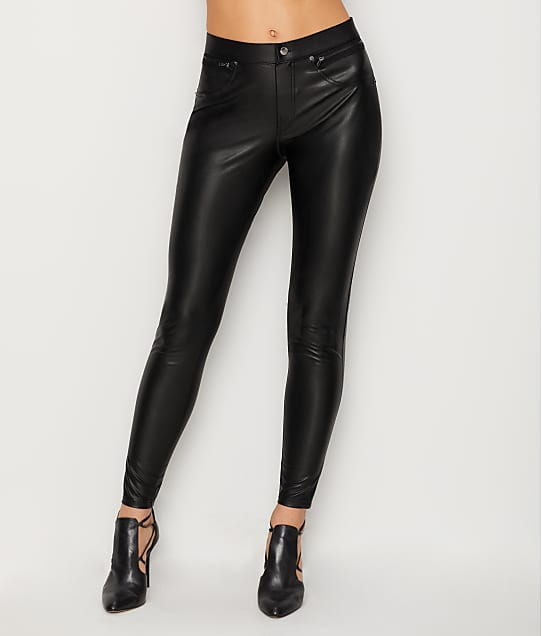 HUE: Faux Leather Leggings