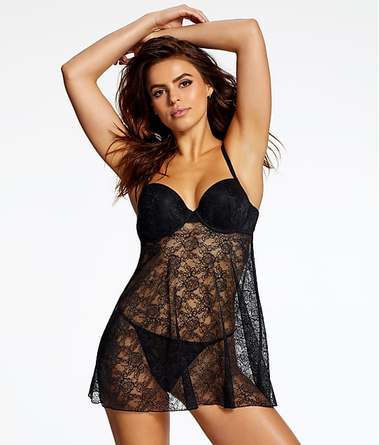 Jezebel: Angel Lace Babydoll Set