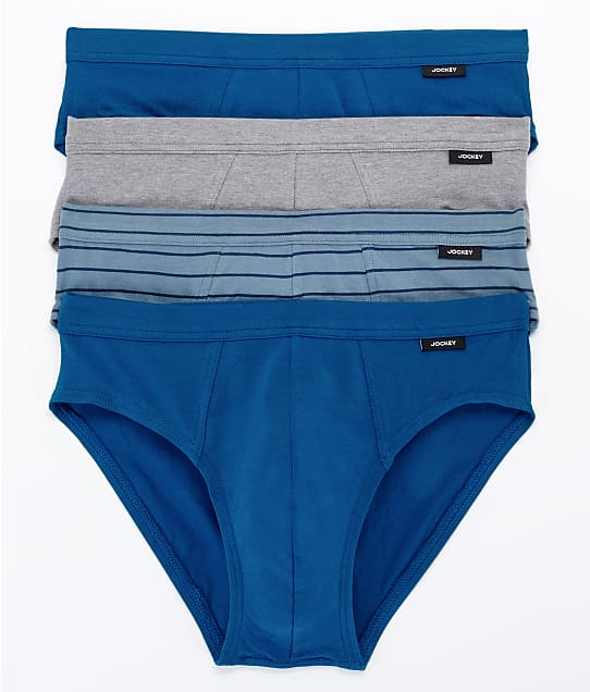 Jockey: Cotton Stretch Low Rise Bikini 4-Pack