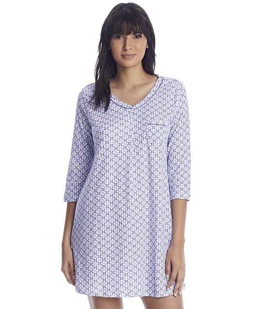 Karen Neuburger: Violet Storm Knit Sleepshirt