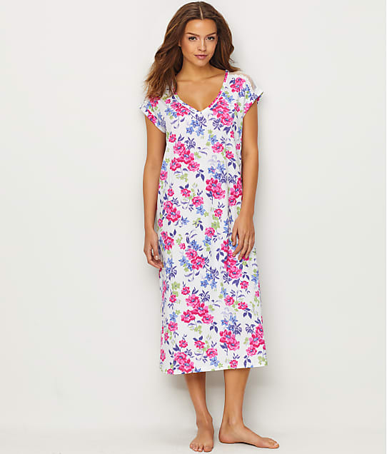 Karen Neuburger: Floral Knit Night Gown