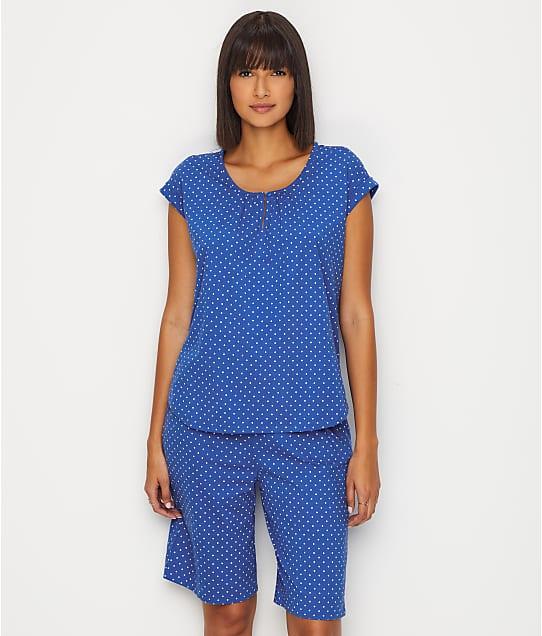 Karen Neuburger: Knit Bermuda Pajama Set