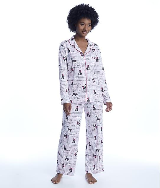 Karen Neuburger: Cats Girlfriend Knit Pajama Set