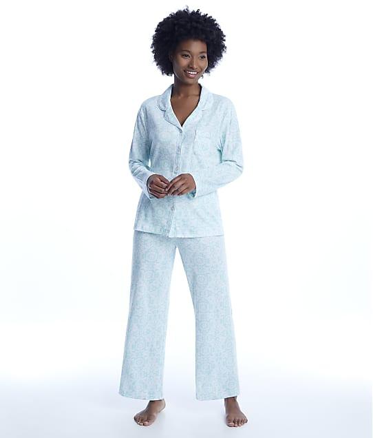 Karen Neuburger: Brocade Girlfriend Knit Pajama Set