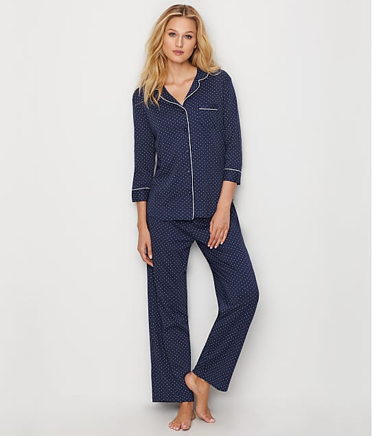 Karen Neuburger: Polka Dot Knit Pajama Set