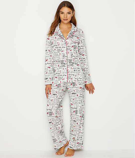 df4baefdb9a7 Karen Neuburger Girlfriend Knit Dog Pajama Set