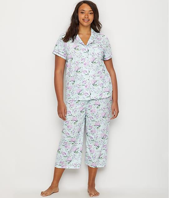 c872daa9f7 Karen Neuburger Plus Size Girlfriend Knit Cropped Pajama Set