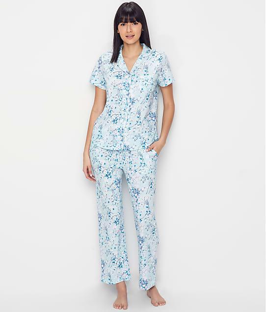 Karen Neuburger: Floral Girlfriend Knit Pajama Set